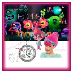 """dreaming of TROLLS!"" by paulette-matthews on Polyvore featuring Disney"