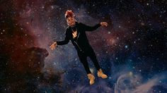 New party member! Tags: space yvng swag yvngswag floating in space
