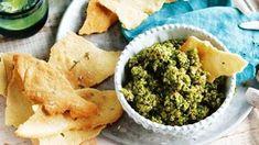 Healthy, easy to make and my favorite way to start any meal. Garlic Dip, Garlic Head, Roasted Garlic, New York Times Cooking, Fun Dip, Roast Eggplant, Frozen Broccoli, Kalamata Olives