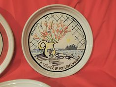 (3) Rare BENNINGTON POTTERS Mid Century Abstract Plates – DAVID GIL – Pop Art - | eBay Bennington Pottery, Pop Art, Mid Century, David, Plates, Abstract, Ebay, Licence Plates, Summary