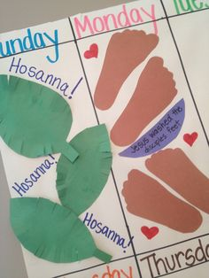 When You Rise: Holy Week Activities
