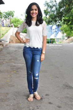 White Wardrobe, Ebony Women, Indian Actresses, Skinny Jeans, Clothes For Women, Film, Clothing, Pants, Beauty