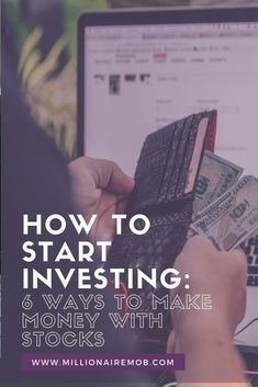 FRE guide to help you start investing now. Here are 6 ways to make money with stocks right now Money Tips, Money Saving Tips, Managing Money, Company Financials, Financial Statement, Marketing Jobs, Investing Money, Money Management, Way To Make Money