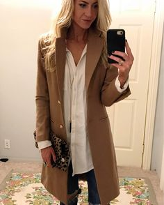 I present to you the worlds most perfect camel coat. I've been watching this one for weeks and it FINALLY came back in stock!  Run and snag it while they have lots of sizes available! (Outfit details: Profile link > Menu > My Instagram)   Also..a little  today from my girl @valeriembeck - aka Khloe Kardashian's hairdresser..#prettymuch.  #leanneslookbook #ootd #liketkit http://liketk.it/2qalS