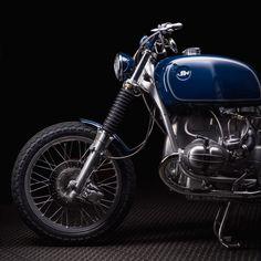 11th custom bike by Jerikan motorcycles, a BMW R100 RT from 1977www.jerikan.frcopyright : Pierre Turtautwww.pierreturtaut.com