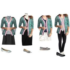 """Loft paisley cardigan outfit ideas"" by andi-smith on Polyvore"