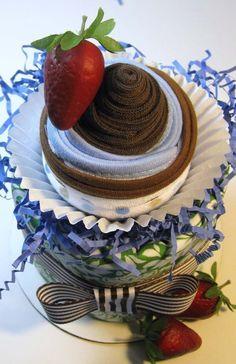 Diaper Cake Top #timelesstreasure