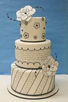 Sunday Sweets: Manuscript cake