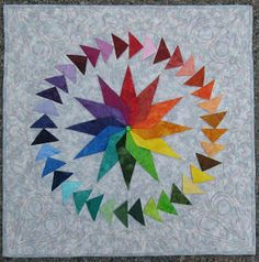 Quilt: Color Wheel Magic « Mary Anne's Quilting Adventures and more!