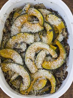 Roasted Mushrooms & Kabocha Squash.