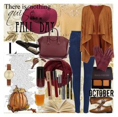 """""""FALLing for you every day."""" by meliki ❤ liked on Polyvore featuring Sea, New York, Laura Mercier, Retrò, Boohoo, Skagen, TOMS, Crate and Barrel, Bobbi Brown Cosmetics, John Lewis and Givenchy"""