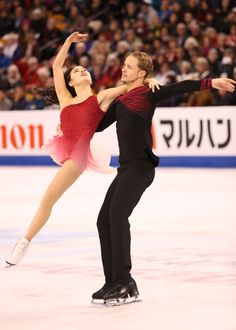 Madison CHOCK / Evan BATES(USA) Ice Dance Free<br /> EOS-1D X Mark II,EF200-400mm f/4L IS USM,F4.0,1/1250sec,ISO6400<br /> (c)M.Sugawara/JapanSports