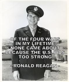 QUOTE OF THE DAY BY RONALD REAGAN