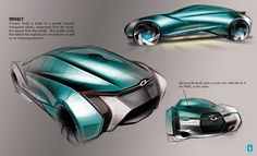 Hyundai Genesis Coupe by Michael McGee, via Behance