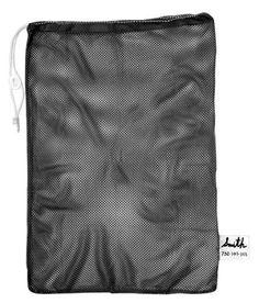 "Navy Champion Sports 24x36/"" Heavy Duty Nylon Mesh Equipment Bag With Drawstring"