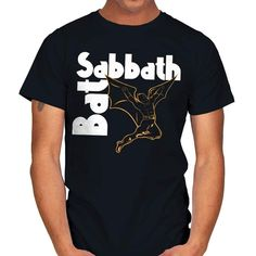 BAT SABBATH T-Shirt - Batman T-Shirt at RIPT! $7 off with code: CHOICE! Super Movie, Batman T Shirt, Sabbath, Large Black, Batman Stuff, Sleeves, Mens Tops, Label, Neckline