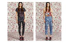 Sold Out??  But I want those floral pant things so hard! Le Sad.  Mary Katrantzour for TopShop
