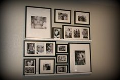 wall ideas using ledge frames | Wall Ledge Decorating Ideas