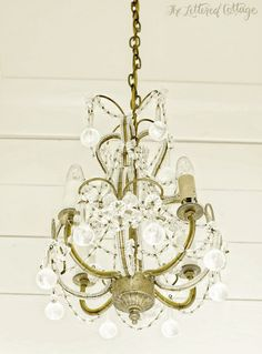 chandelier for laundry room?