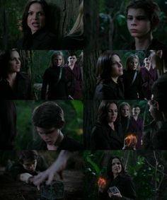 """""""The thing is I don't regret anything."""" (Something like that) the one and only time I like Regina"""