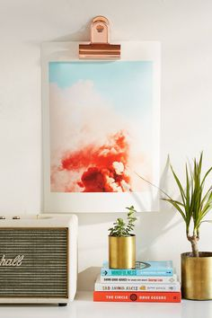83 Oranges Candy Smoke Wall Art Print | Urban Outfitters | Home | Home Accessories | Wall Art and Tapestries #uoeurope #urbanoutfitterseu #UOHome