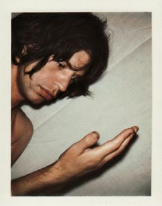 vintage everyday: Mick Jagger's Polaroids by Andy Warhol, 1975