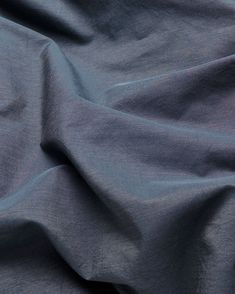 Vintage Egyptian Cotton Duvet Covers and Pillows - Graphite Blue ( Col 37 ) Egyptian Cotton Duvet Cover, Italian Hot, Weaving Process, Luxury Bedding, Yarns, Graphite, Weave, Duvet Covers, Xmas