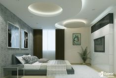 Browse our latest catalog of best POP roof designs, pop design for roof with false ceiling lights, plaster of paris designs for bedroom roof, roof POP designs images and roof ceiling designs pictures in 2020 Gypsum Ceiling Design, House Ceiling Design, Ceiling Design Living Room, Bedroom False Ceiling Design, False Ceiling Living Room, Bedroom Ceiling, False Ceiling Ideas, Fall Ceiling Designs Bedroom, Drawing Room Ceiling Design