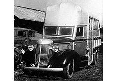 歴代車両図鑑(バス)1946年製トラバス