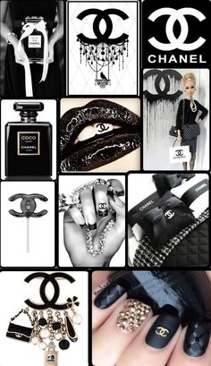 #channel #nails #lollipop #perfume #barbie #black Pink Wallpaper Iphone, Iphone Background Wallpaper, Aesthetic Iphone Wallpaper, Coco Chanel Wallpaper, Chanel Wallpapers, Paris Wallpaper, Chanel Background, Collage Background, Fond Design