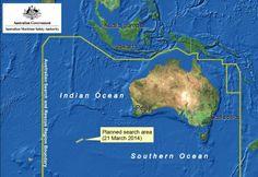 Boeing disparu: les recherches reprennent au large de l'Australie