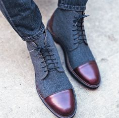 Coloured Men's Boots Mens Fashion Online, Mens Fashion Shoes, Shoes Men, Men's Fashion, Mens Boots Online, Shoes Online, Taft Boots, Dress With Boots, Dress Shoes