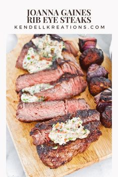 Rib Eye Recipes, Beef Recipes, Healthy Recipes, Healthy Food, Healthy Eating, Cookbook Recipes, Bakery Recipes, Magnolia Foods, Magnolia Table