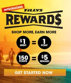 Free $5 Gift Code from Tilly's w/ Rewards Signup (FS on $20 AC) #LavaHot http://www.lavahotdeals.com/us/cheap/free-5-gift-code-tillys-rewards-signup-fs/101754