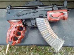 AK 47 pistol