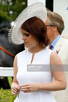Princess Eugenie attends day three of the Qatar Goodwood Festival at Goodwood Racecourse on July 30, 2015 in Chichester, England.  (Photo by Tristan Fewings/Getty Images for Qatar Goodwood Festival)