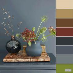Paint Color Palettes, Paint Color Schemes, Colour Pallette, Interior Color Schemes, Interior Paint Colors, Paint Colors For Home, Room Colors, House Colors, Color Balance