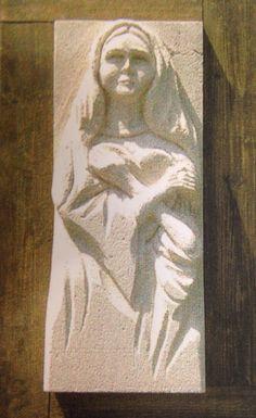 Le Sculture di Gerry - La Madonna del cuore (collezione privata)