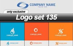 Logo set 135 - 25 EPS تحميل