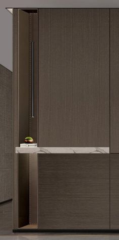 Flur Design, Wall Design, House Design, Cabinet Furniture, Design Furniture, Cladding Design, Home Luxury, Corridor Design, Interior Architecture