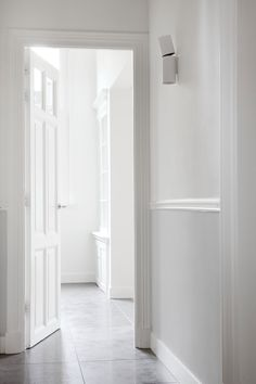 Mansion in The Hague is a residential renovation project of a hundred year old building, by designer Remy Meijers, located in The Hague, The Netherlands. Interior Lighting, Home Lighting, New Furniture, Furniture Design, Hallway Inspiration, Hallway Ideas, Modern Townhouse, The Hague, Types Of Houses