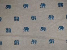 Clarke & Clarke Safi Linen Fabric Denim - Curtains And Light Upholstery - The Millshop Online