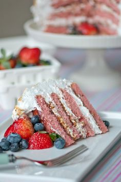 Berry Almond Crunch Cake (2)