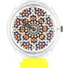 Reloj mosaicos