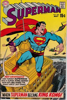 Superman 226 May 1970 Issue DC Comics Grade Fine by ViewObscura