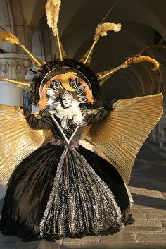 venice carnival costumes   Moon Goddess Spreading Wings 2   Flickr - Photo Sharing!
