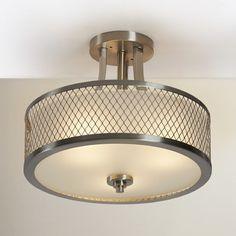 Darby Home Co Lofton 3 Light Semi Flush Mount & Reviews   Wayfair