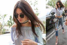 Рубашка Kendall Jenner / Звездный стиль / ВТОРАЯ УЛИЦА