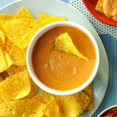Championship Bean Dip Slow Cooker Dips, Slow Cooker Recipes, Crockpot Recipes, Cooking Recipes, Slower Cooker, Cooking Time, Bean Dip Recipes, Potluck Recipes, Mexican Food Recipes