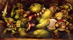View an image titled 'Lima Ray the Witch Art' in our Dragon's Crown art gallery featuring official character designs, concept art, and promo pictures. Dragons Crown, Crown Art, Goblin King, Witch Art, Dragon Art, Video Game Art, Fantasy Art, Fantasy Races, Character Art